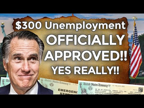 OFFICIAL APPROVED!!! $300 UNEMPLOYMENT BENEFITS EXTENSION UPDATE LWA PUA PEUC FPUC | STIMULUS BILL