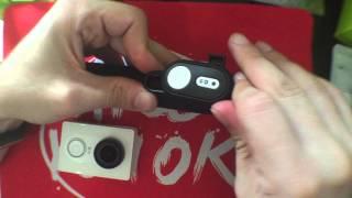 Xiaomi Yi  Bluetooth  Remote Controller(How to Bind-Pair with Xiaomi Yi Camera)