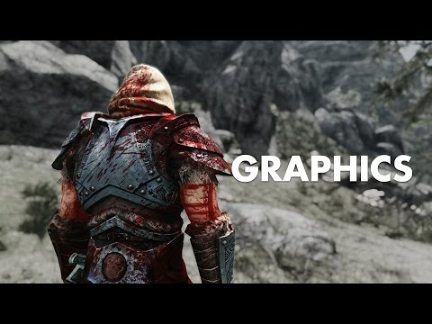 The Best Skyrim GRAPHICS Mods - 2017