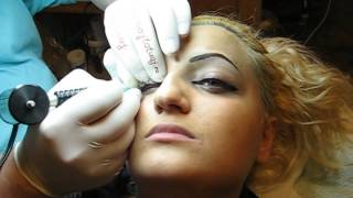 Contur ochi eyes make-up http://www.machiajtatuaj.ro