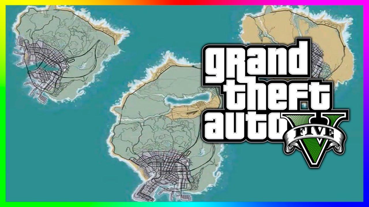 Gta Maps On An Island