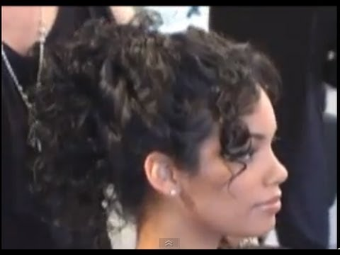 how to style frizzy curly hair for curly hair up do 4836