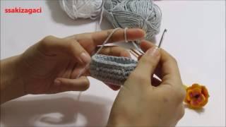 Örgü Sepet Anahtarlık Yapımı - El İşi Anahtarlık Nasıl Yapılır ... | 180x320