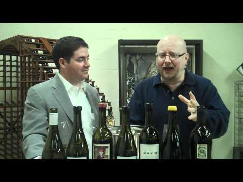 August Sebastiani and Bill Schwab with Leese-Fitch Cabernet