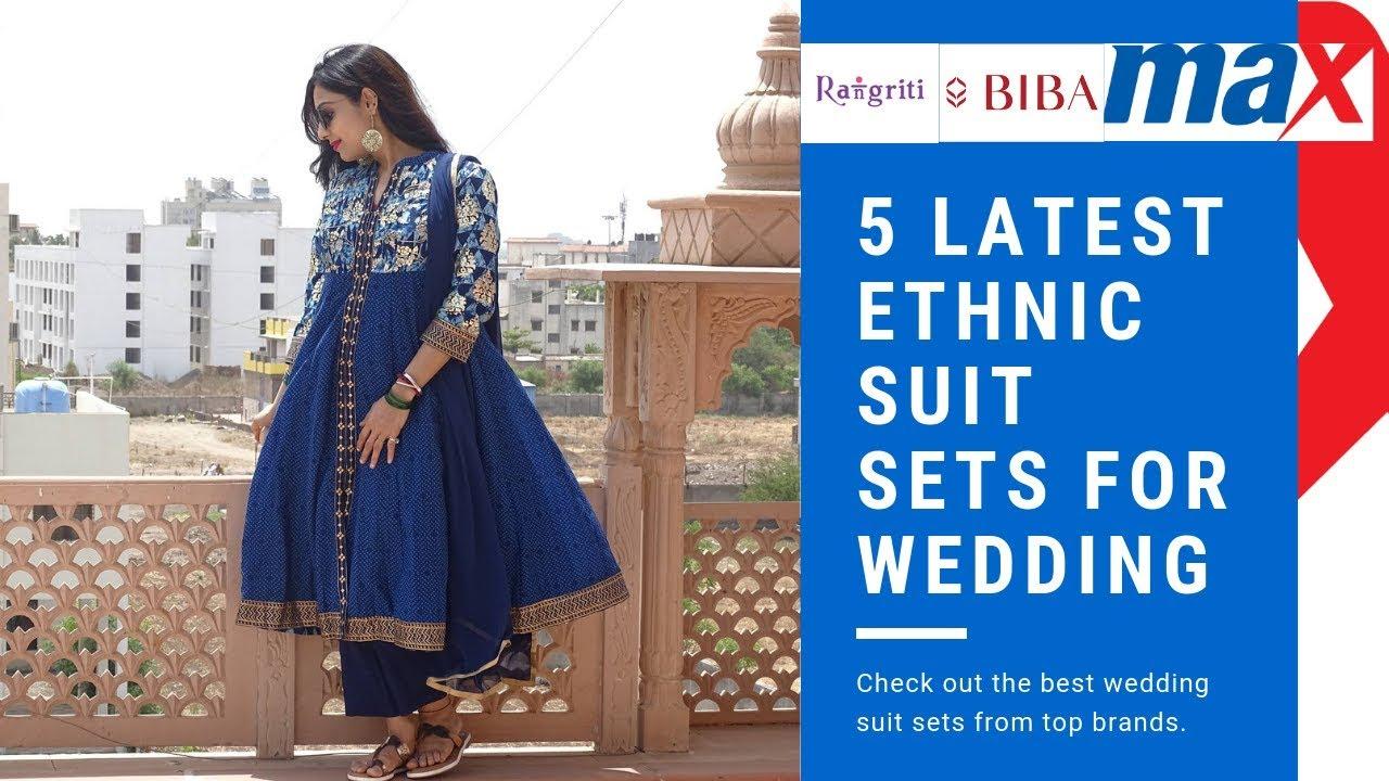 832d4d09707 5 Latest Ethnic Suit Sets for Wedding