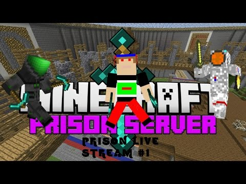 Holland & Friends Play Minecraft!!!  LIVE STREAM!!!