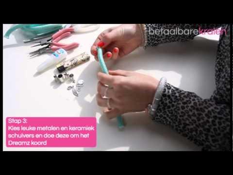 Sieraden maken: Hoe maak je een Dreamz armband van Dreamz Jewels? ♡ DIY