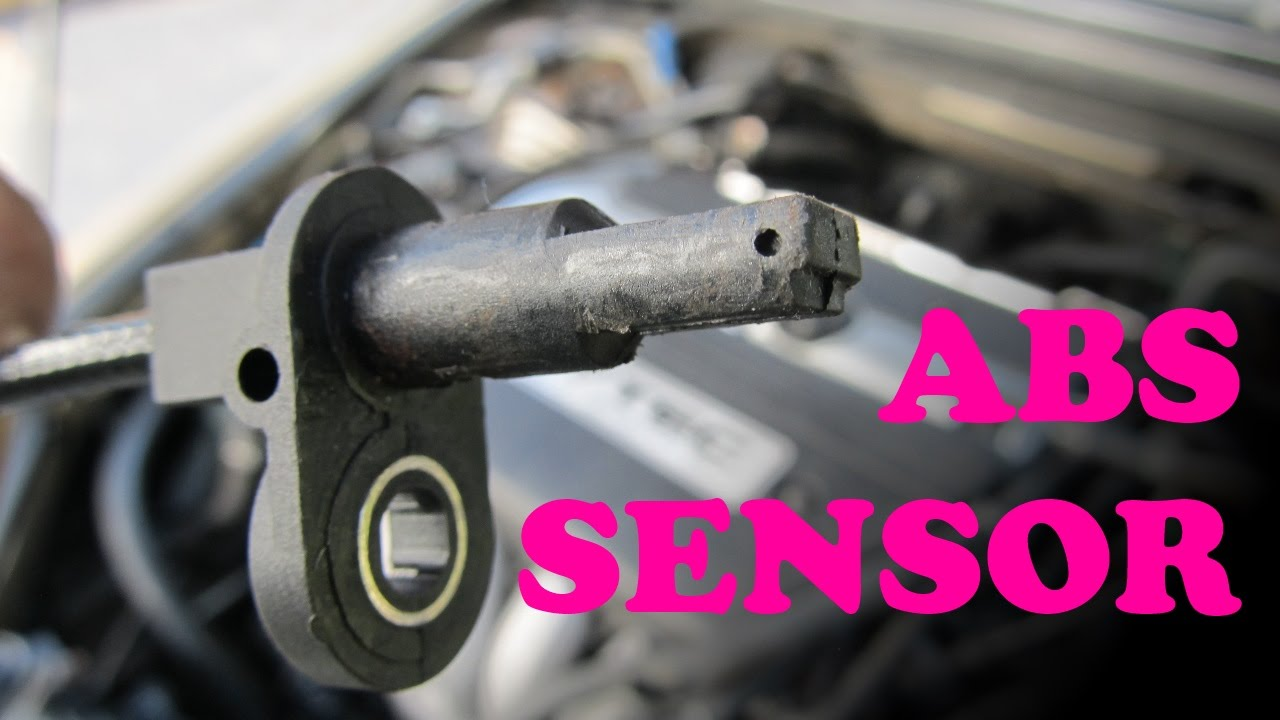 Honda ABS Sensor Replacement  YouTube