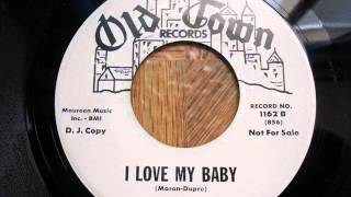 Bob Gaddy - I love my baby - Old Town 1162