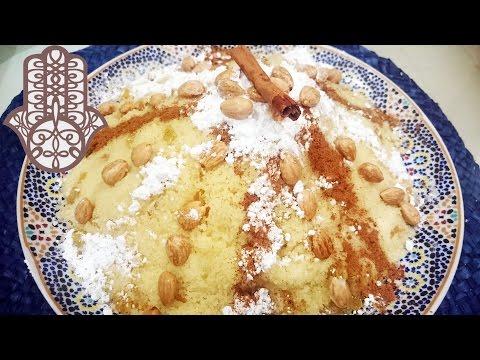 seffa---couscous-sucré-amandes,-raisins-secs