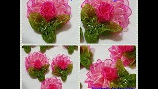 Organze Kurdele oyaları&PİLELİ YELPAZE ÇİÇEĞİ,Forex flower,health flower,summer Taksim flower