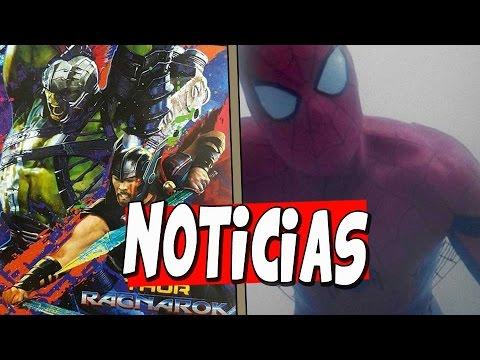 NOTICIAS!SPIDERMAN tendrá alas de Tela Araña!!Se FILTRA Promo Art de THOR y HULK en BATALLA y mas