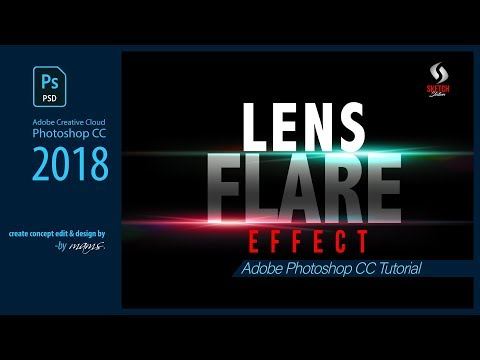 Lens Flare Effects In Photoshop CC Tutorial I Sketch Station