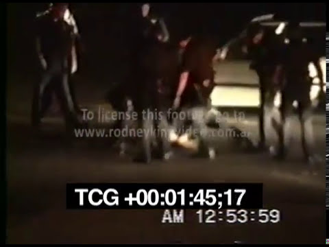 RODNEY KING BEATING VIDEO Full length footage SCREENER