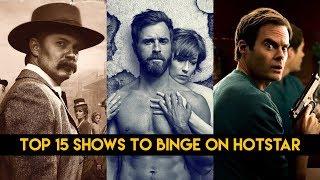 TOP 15 SHOWS TO BINGE ON HOTSTAR | BARRY |  CHERNOBYL | VEEP | HBO |VOXSPACE STUDIOS
