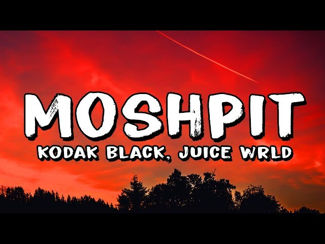 Kodak Black - MoshPit ft. Juice Wrld (Lyrics)