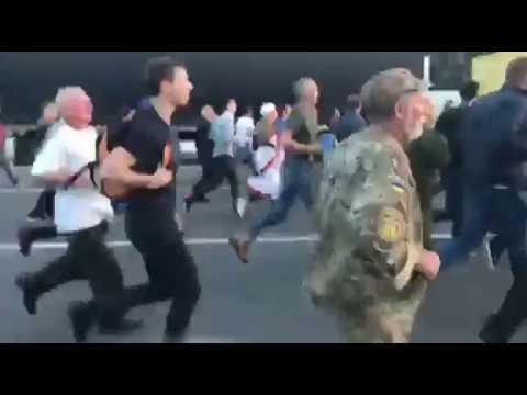 Саакашвили уже в Украине. Его сторонники прорвали кордон