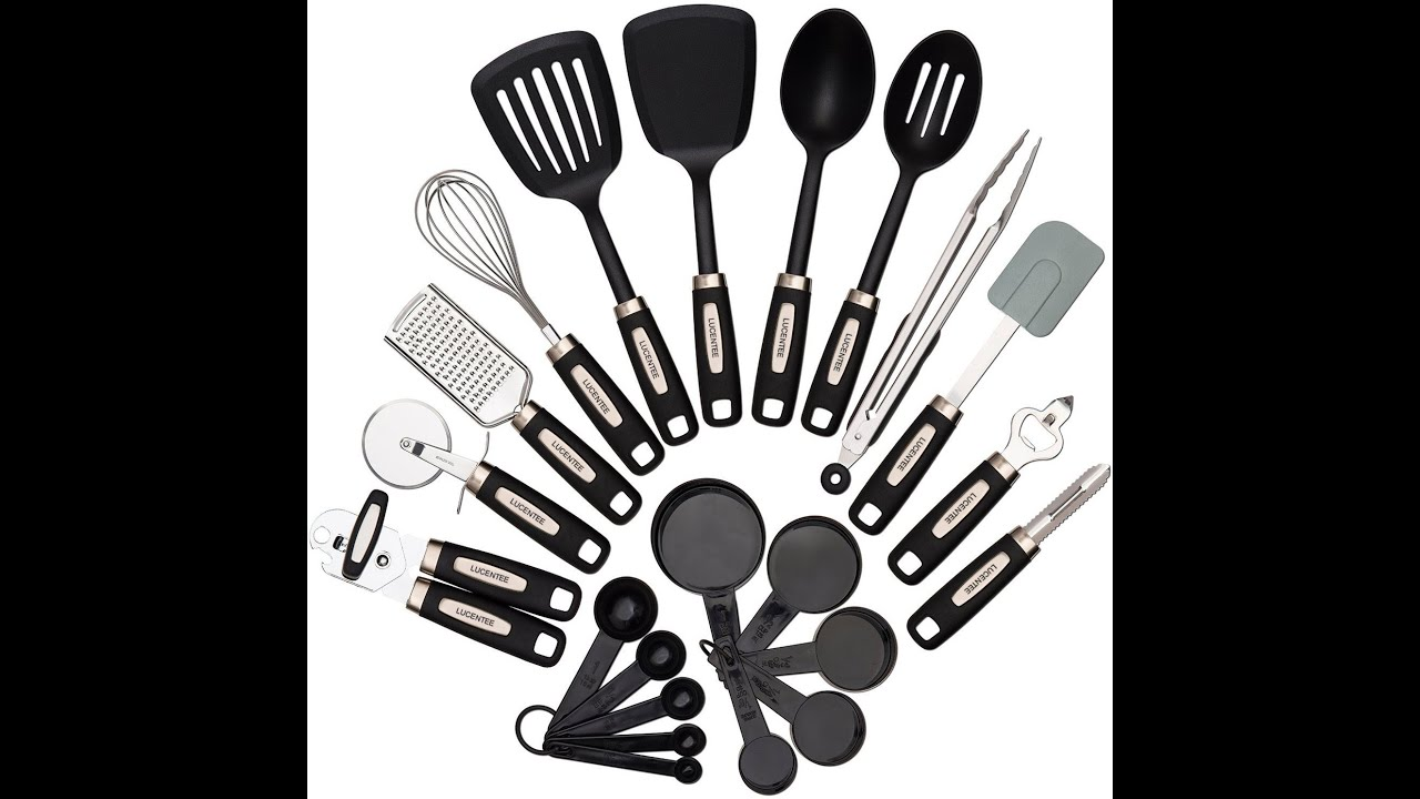 2 piece kitchen utensils sets youtube teraionfo