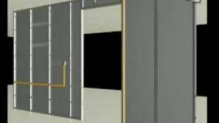 ConstruccionTV-USG Instalación de paneles de yeso USG a muro interior