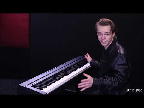 Yamaha's ($499.00) Fully Weighted Keyboard - P45B (Full Review)