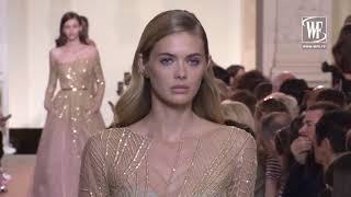 Elie Saab Haute Couture Fall/Winter 18-19 - Видео от World Fashion Channel