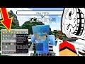 DEI CRIATIVO PRA MENINA! VEJA O QUE ELA FEZ!! Trollando Players no Minecraft!