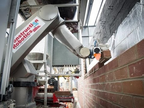 Construction Robot Robot Bricklayer Could Build Your Future Youtube
