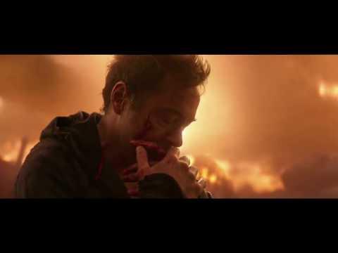 AVENGERS: INFINITY WAR: El remordimiento de Tony  CLIP HD (AUDIO LATINO)