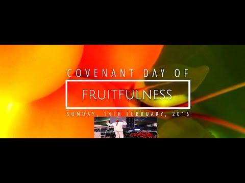 Bishop David Oyedepo:Covenant Day Of Fruitfulness/Special Communion Service Feb.14,2016