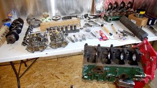 Building a Ford Crossflow 1600  |  244 Rally Cam , 1300 GT Pistons