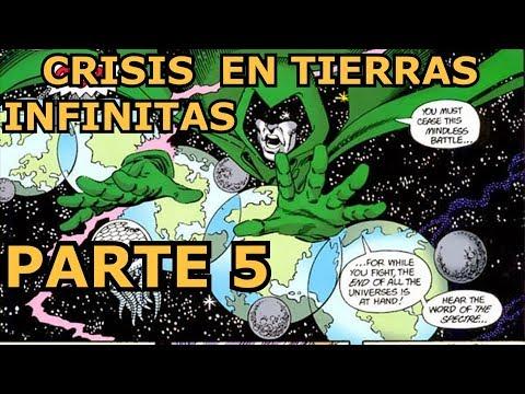 crisis en tierras infinitas parte 5 - la furia de spectre - zaaap - dc comics