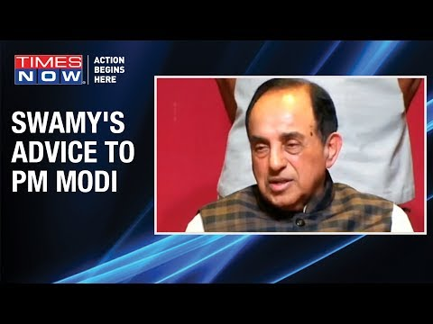 Subramanian Swamy: 'Note