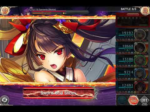 Kamihime Project - Dark Tower 15F Rainbow