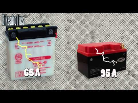 Why buy a lithium motorcycle battery?