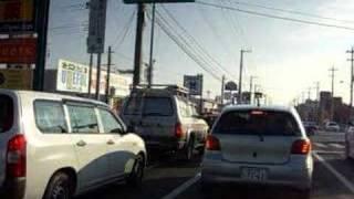 朝のドライブ、ガソリンスタンド→R245