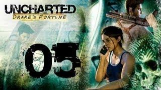 Uncharted : Drake's Fortune - Chapitre 5 : La forteresse | Walkthrough HD [PS3]