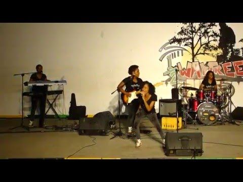 Jamaica's All Female Band, Adahzeh's Half Way Tree Full Performance.