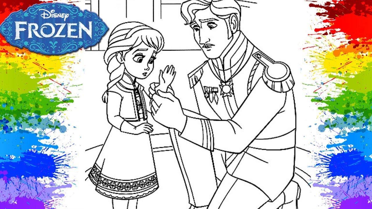Colorindo Princesa Elsa Filme Frozen Uma Aventura