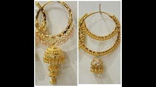 New Gold Hoop Earrings Designs