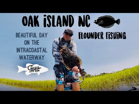 Oak Island NC  (flounder Fishing)