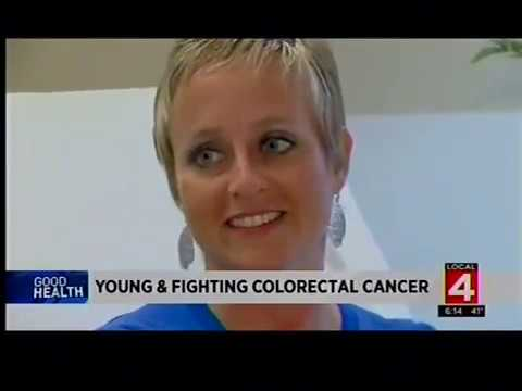 Young Woman Fights Colorectal Cancer video thumbnail