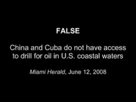 Graves Lies about Cuba-China Oil