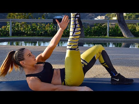 37 Min Savage Abs Workout At Home No equipment