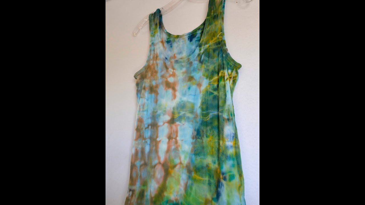 Tie Dye with Acrylic Paint : Does it Fade after Washing ...