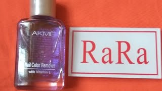 Lakme nail colour remover with vitamin e review best amp affordable nail paint remover in india