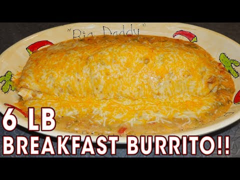 96oz BREAKFAST BURRITO CHALLENGE RECORD!!
