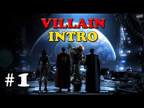 DC UNIVERSE ONLINE - Gameplay Walkthrough Lets Play - Part 1 - (PS4) Character Creation (Villain)