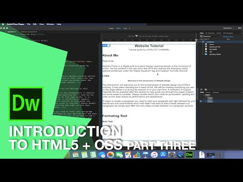 Part 3 - Introduction To HTML & CSS