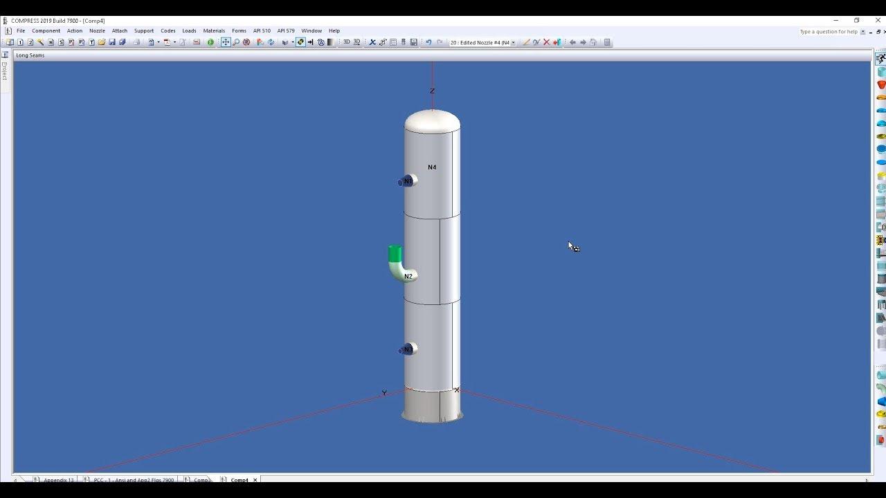 COMPRESS - Pressure Vessel Design Software   Codeware
