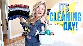 ULTIMATE CLEAN WITH ME | MAJOR CLEANING MOTIVATION with CLEANING MUSIC